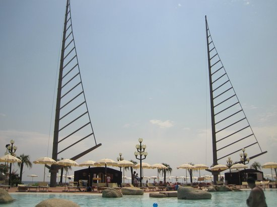 Hotel Sighientu Thalasso & Spa : vista mar