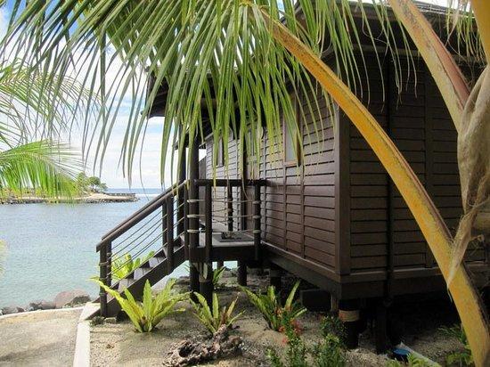 Aga Reef Resort: Villa 6 - Facing the lagoon