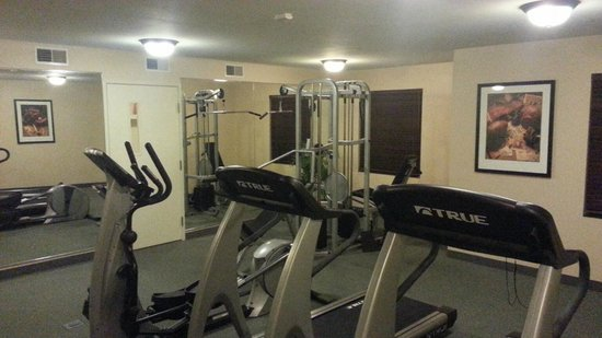 Staybridge Suites Davenport: Workout room