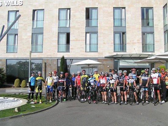 Class Valls: 2n Campus ciclista Xavi Tondo