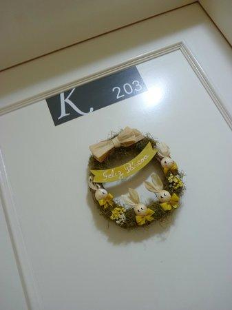Hotel Pousada Kaster: decoração de pascoa