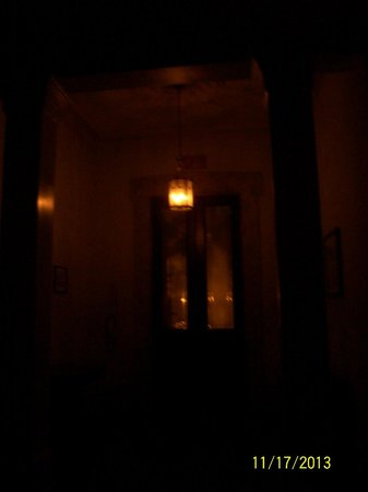 Sorrel Weed House: creepy pic of intro from front of house
