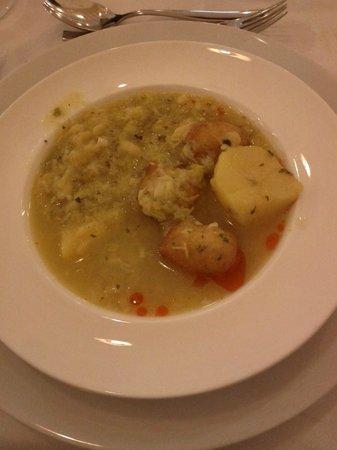 Restaurante Real Colegiata de San Isidoro: Plato de cuchara
