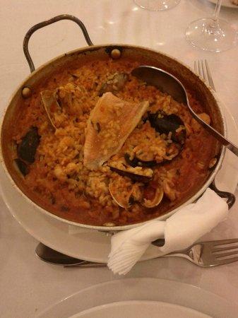 Restaurante Real Colegiata de San Isidoro: Arroz caldoso