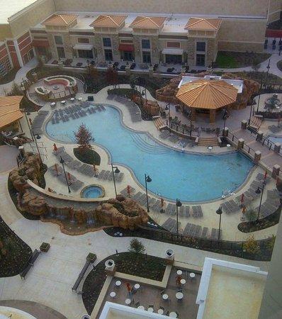 Winstar world casino hotel and resort pool 2 area for Pool show okc