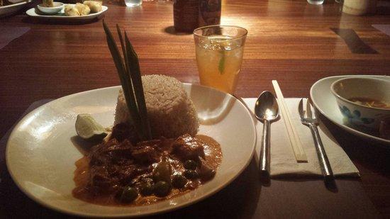 Busaba Eathai : Beefy Curry. Very tasty & spicy