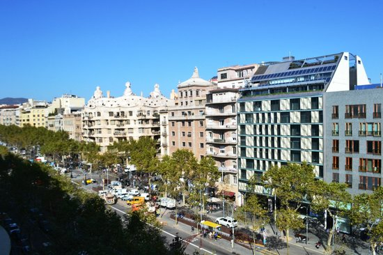 Frente Del Hotel Picture Of Condes De Barcelona Tripadvisor