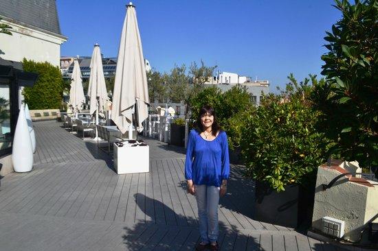 Condes De Barcelona : TERRAZA