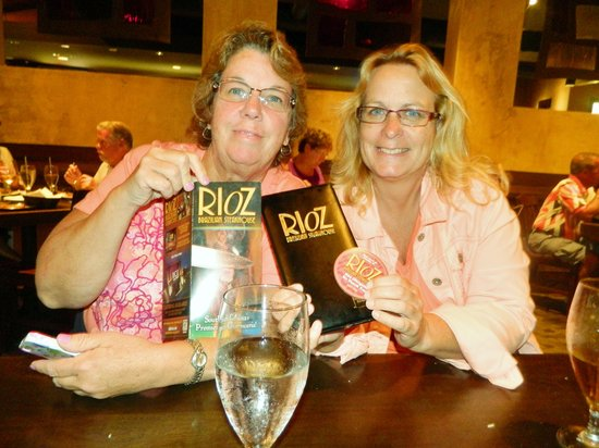 Rioz Brazilian Steakhouse: girl's night out!