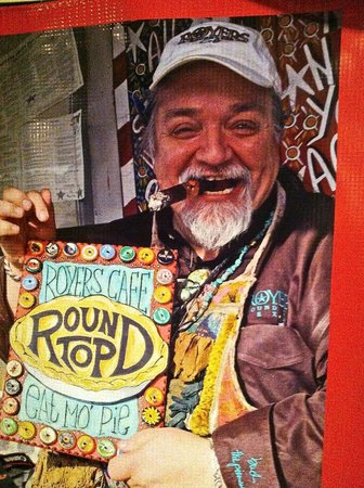 Royers Round Top Cafe: The Pieman of Texas--Bud Royer