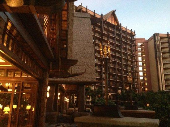 Aulani, a Disney Resort & Spa: Outside view