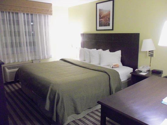 Quality Inn : Zimmer 114