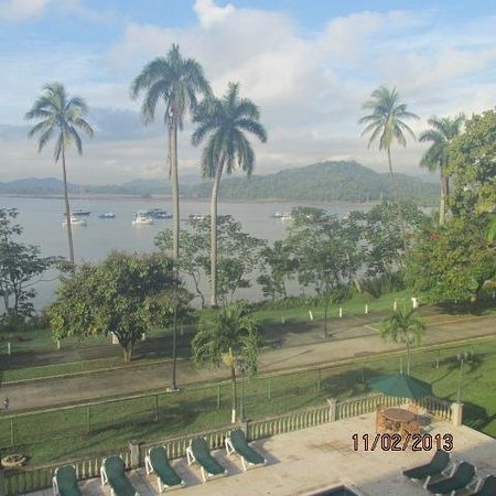 Country Inn & Suites By Carlson, Panama Canal, Panama: VIew from 2nd story canal view room