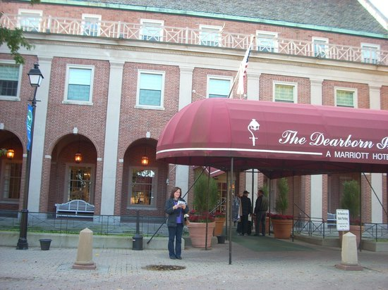The Dearborn Inn, A Marriott Hotel: Outside the main building