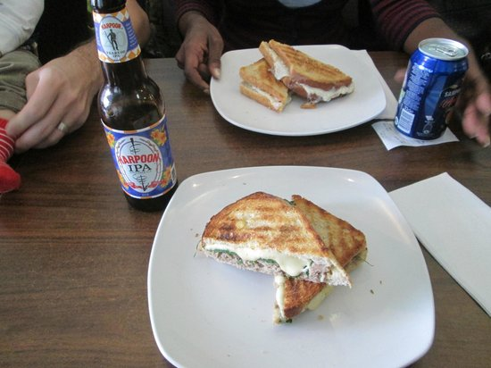 Toast: Lunch: Roasted Pork Loin and Provolone Panini