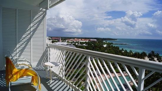 Grand Lucayan, Bahamas: our deck