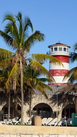 Grand Lucayan, Bahamas: port lucayan lighthouse