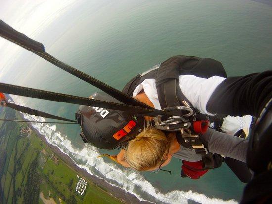 Skydive Costa Rica: In the air