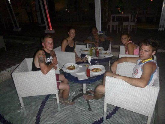 Bali Island Adventure Tours : going out to dinner with gede