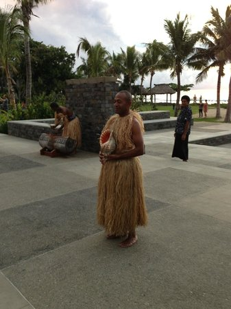 InterContinental Fiji Golf Resort & Spa : evening ceremony