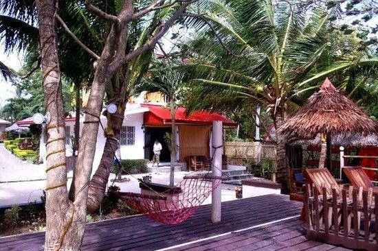 Isla Hayahay: Hotel area