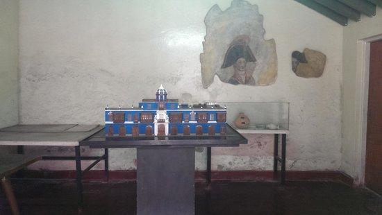 House of Osambela: miniature of the house
