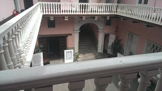 House of Osambela: look down from the 2nd floor