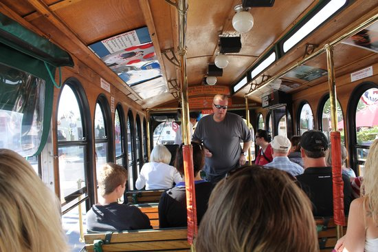 Old Town Trolley Tours of San Diego: Just Before Leaving