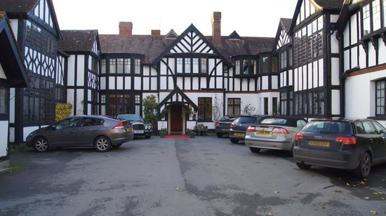 Caer Beris Manor Hotel: parking really easy and close