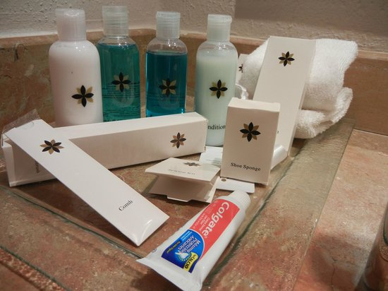 Excellence Punta Cana: Toiletries provided