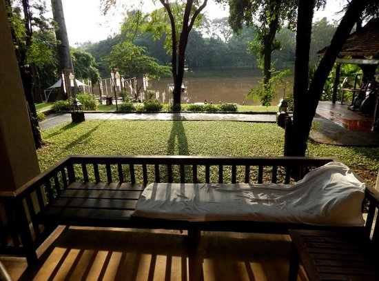 Lanna Dusita Boutique Resort by Andacura: View to river Ping