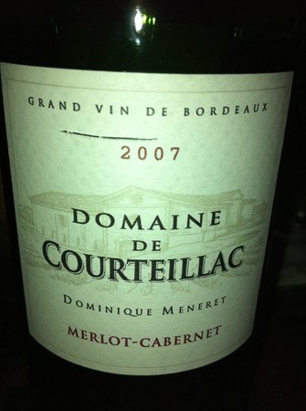The Corner Bistro and Wine Bar: Fabulous Bordeaux! Try It If They Have It...