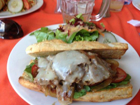 Restaurante El Garaje : An Italian style pork sandwich... Yum