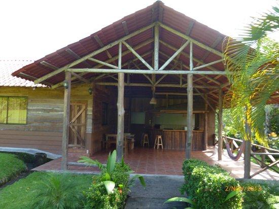 Hotel Arenal Green: Esta cabaña es excelente para venir en familia