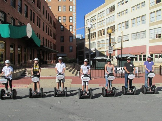 Dallas Segway Tours : Our group ;)