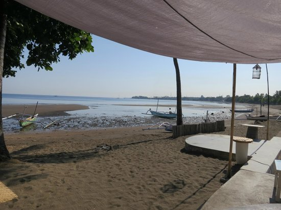 Lilin Lovina Beach Hotel: breakfast view