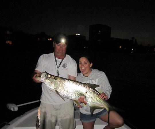 Fishing Sarasota Florida - Day Tours: Night time tarpon
