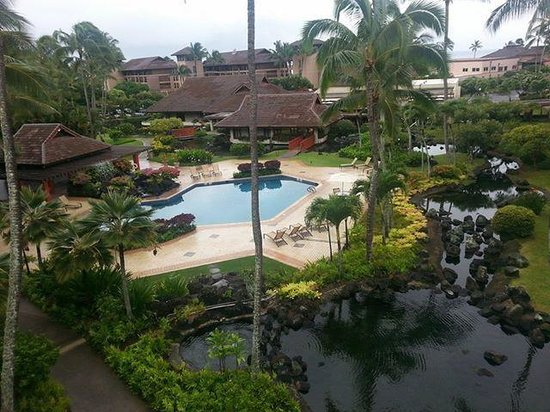 Sheraton Kauai Resort: room view