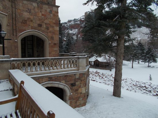 Glen Eyrie Castle & Conference Center: School House from Castle