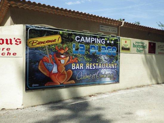 Camping la Plage : super camping