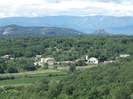 Camping la Plage : paysage magnifique