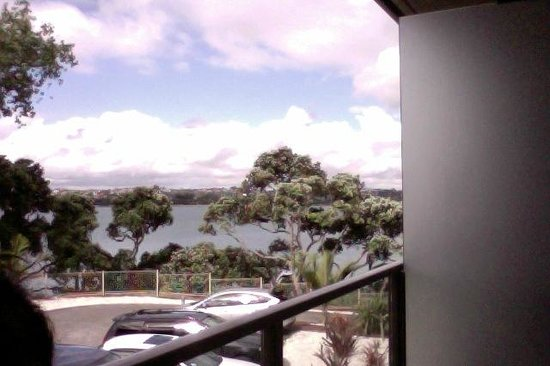 VR Takapuna: Vue du balcon