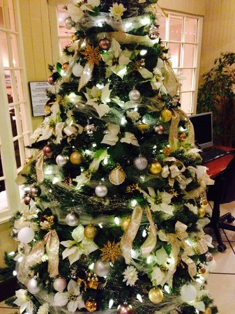 BEST WESTERN Cowichan Valley Inn : Christmas tree in lobby