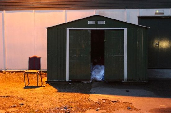 Broome Park Golf and Country Club : Daily drive by of garbage shed