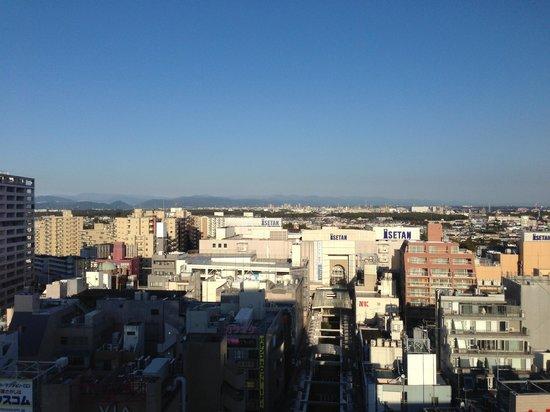 Odakyu Hotel Century Sagami-Ono : 部屋からの眺め12階
