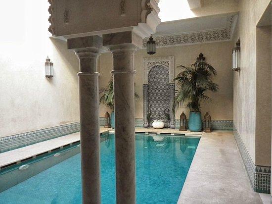 Riad Kniza: Wellnessbereich mit Hammam, Sauna und Massage