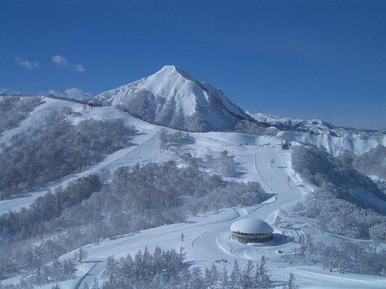 Maiko Snow Resort: 山頂からの眺め1