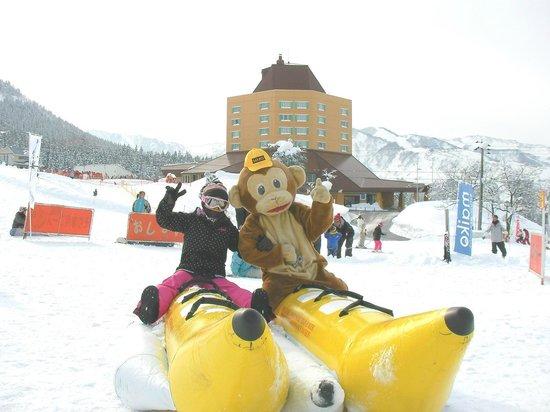 Maiko Snow Resort: 大人気!バナナボート