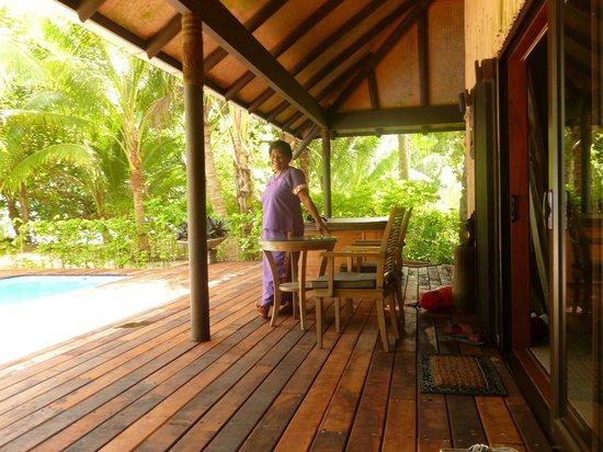 Qamea Resort And Spa Fiji: Fantastic house cleaners