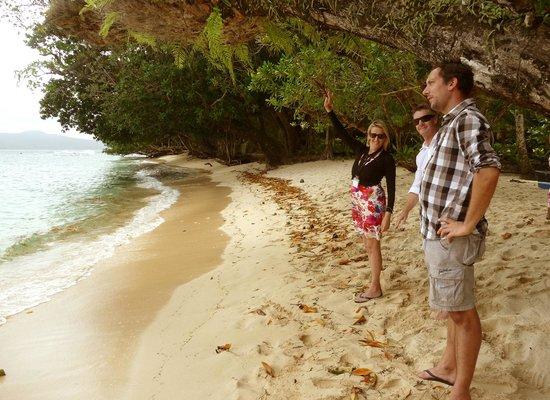 Qamea Resort And Spa Fiji : Friendly staff
